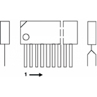 3-channel convergence correction circuit