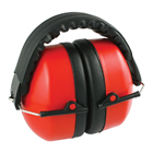 Protection ear muffs with adjustable headband
