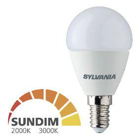 LED Žárovka E14 Koule 6.5 W 470 lm 2700K - 2000 K