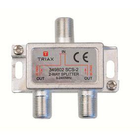 Satelitn� Rozbo�ova� F-konektor 6.2 dB / 5-2400 MHz - 2 V�stupy