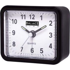 Balance | Alarm Clock | Analogue | Black - zvìtšit obrázek