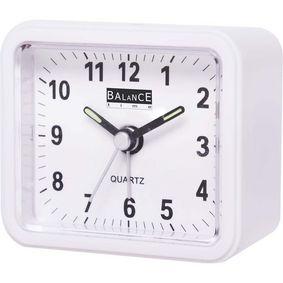 Balance | Alarm Clock | Analogue | White - zvìtšit obrázek