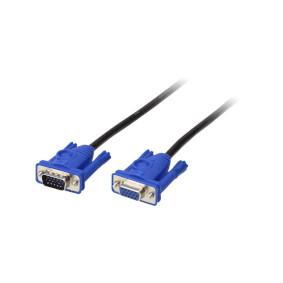 Kabel KVM VGA Zásuvka - VGA Zástrèka 1.8 m - zvìtšit obrázek