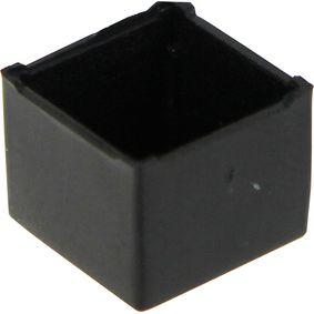 Krabice pro zalévání 11 x 11 x 9 mm Èerná ABS PU = 10 PC