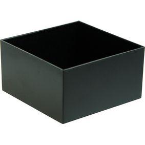 Krabice pro zalévání 75 x 75 x 40 mm Èerná ABS PU = 10 PC