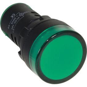 22mm indikátor na panel Zelená 12 V