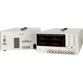 Laboratorní napájecí zdroj 3 Kan. 0...30 VDC 5 A / 0...30 VDC 5 A / 5 VDC 3 A, Programovatelný
