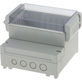 Sk��� pro desku plo�n�ch spoj� 161 x 166 x 121 mm ABS / PC