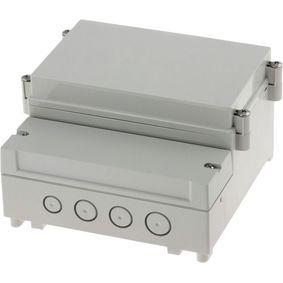 Pouzdro pro PCB na li�tu DIN 161 x 166 x 121 mm ABS