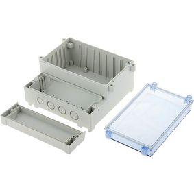 Pouzdro pro PCB na li�tu DIN 217 x 256 x 132.5 mm ABS / PC