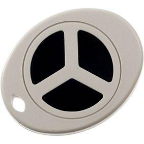 Pouzdro pro pøívìsky na klíèe 43 x 55 x 13.4 mm Šedá ABS