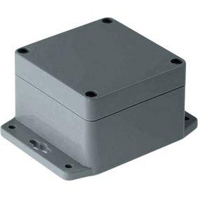 Plastov� sk��� 80 x 82 x 55 mm Tmav� �ed� ABS IP 65 / NEMA 4