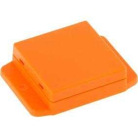 Plastov� sk��� 50 x 50.4 x 17 mm Oran�ov� ABS IP 00 N/A