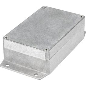 Kovová skøíò, Hliník, 80 x 125 x 40 mm, Slitina Hliníku / ADC12, IP 65