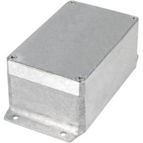 Kovová skøíò, Hliník, 80 x 125 x 57 mm, Slitina Hliníku / ADC12, IP 65