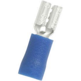 Nožová zásuvka Modrá 4.8 x 0.5 mm N/A PU = 100 PC