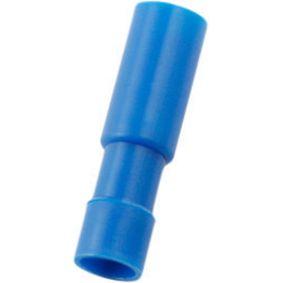 Krimpovací svorka, zásuvka Modrá N/A PU = 100 PC