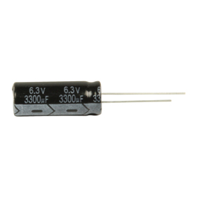 Elektrolytický Kondenzátor 3300 uF 6.3 VDC