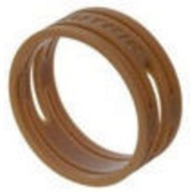 Barevný znaèkovací kroužek Hnìdá