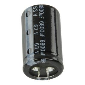 Snap-In Elektrolytický Kondenzátor 6800 uF 63 VDC