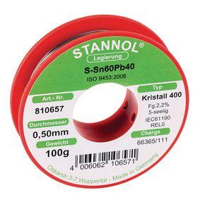 Pájecí drát Sn60/Pb40 100 g 0.50 mm