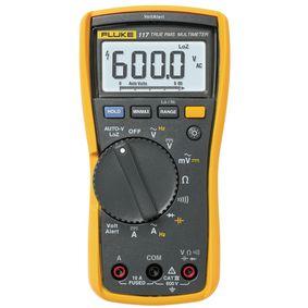 Digitální multimetr FLUKE 117 TRMS AC 6 000 èíslic 600 VAC 600 VDC 10 ADC