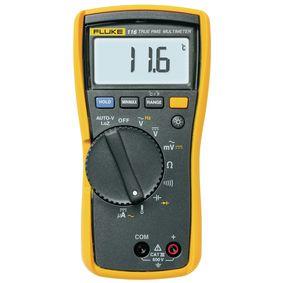 Digitální multimetr FLUKE 116 TRMS AC 6 000 èíslic 600 VAC 600 VDC 0.0006 ADC