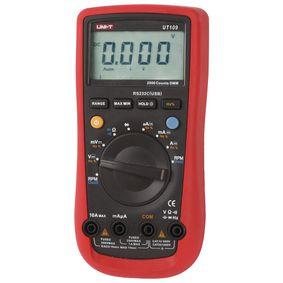 Digitální multimetr Støední hodnota 3999 èíslic 1000 VAC 1000 VDC 10 ADC