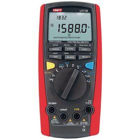 Digitální multimetr Skuteèná efektivní hodnota 20000 èíslic 1000 VAC 1000 VDC 10 ADC