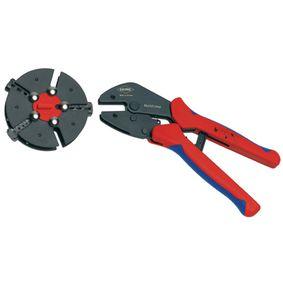 Krimpovací kleštì s vymìòovaèem zásobníku Kolíkové konektory, kabelové botky a koncové botky drátu - 0.5...6 mm