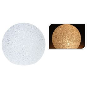 BALL 18CM WARM WHITE LED