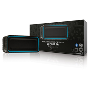 Bluetooth Reproduktor 2.0 Explorer 12 W Vestavìný Mikrofon Èerná/Modrá