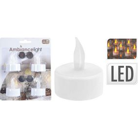 TEALIGHT WITH LED SET OF 4PCS - zv�t�it obr�zek