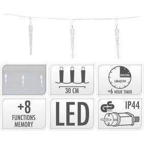 ICICLE LIGHTING | 40 LED | 6 METER LIGHTING | WHITE - zv�t�it obr�zek