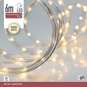 ROPE LIGHT LED 6MTR WARM WHITE - zvìtšit obrázek