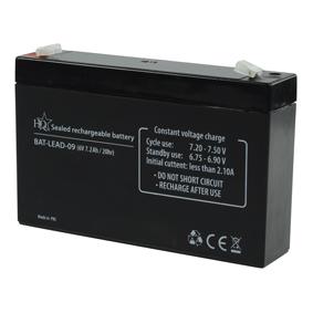 Dobíjecí Olovìná Baterie 6 V 7200 mAh 151 mm x 34 mm x 95 mm