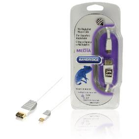 Kabel Mini DisplayPort Mini DisplayPort Z�str�ka - DisplayPort Z�str�ka 1.00 m B�l� - zv�t�it obr�zek