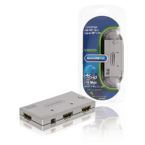 2-Port Ultra HD HDMI P�ep�na� St��brn�