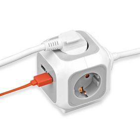Brennenstuhl ALEA Power Cube - USB Charger Extention socket - zvìtšit obrázek