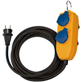 Napájecí prodlužovací kabel 5.00 m H07RN-F 3G1.5 IP44 Žlutá - zvìtšit obrázek