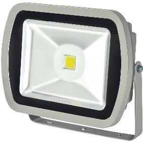 LED Reflektor 50 W 3500 lm Šedá