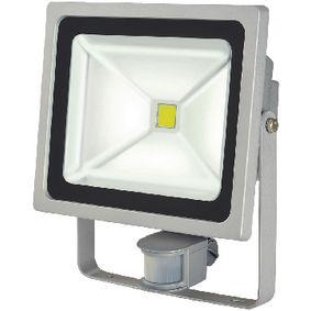 LED Reflektor se Senzorem 50 W 3500 lm Šedá