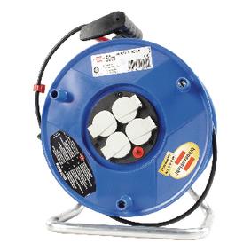 Kabelová Cívka 50 m H05VV-F 3G1.5 IP20