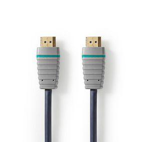 Ultra Vysokorychlostní Kabel HDMI s Podporou Ethernetu | HDMI Konektor - HDMI Konektor | 2 m | Modrý - zvìtšit obrázek