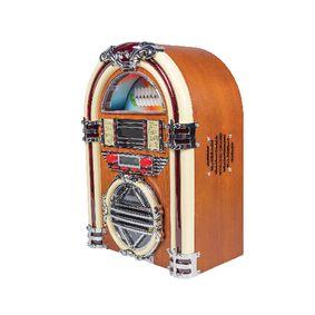 Stolní Rádio Jukebox FM / AM CD Hnìdá
