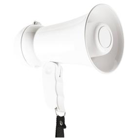 Megafon 15 W Vestav�n� mikrofon B�l�