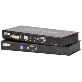 DVI / USB / Zvuk Cat5 Extender 60 m