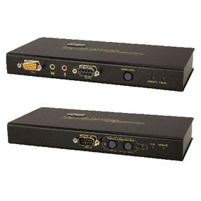 VGA / USB / Zvuk Cat5 Extender 200 m