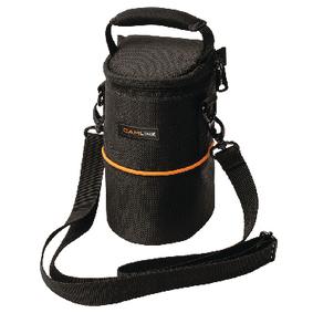 Fotoapar�t Bra�na na Objektiv 90 x 150 x 70 mm �ern�/Oran�ov�