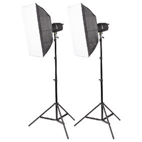 Foto Studio softbox 2x 400 W